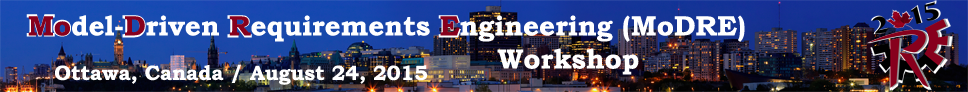 Model-Driven Requirements Engineering Workshop 2015